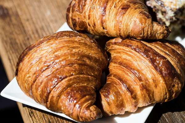 Croissants photographed at B Patisserie in San Francisco, Calif. on Thursday, March 23, 2017.