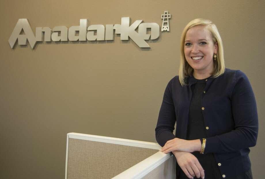 Native Midlander Laura Paige Innerarity manages community relations for Anadarko's Midland office. Photo: Tim Fischer/Midland Reporter-Telegram