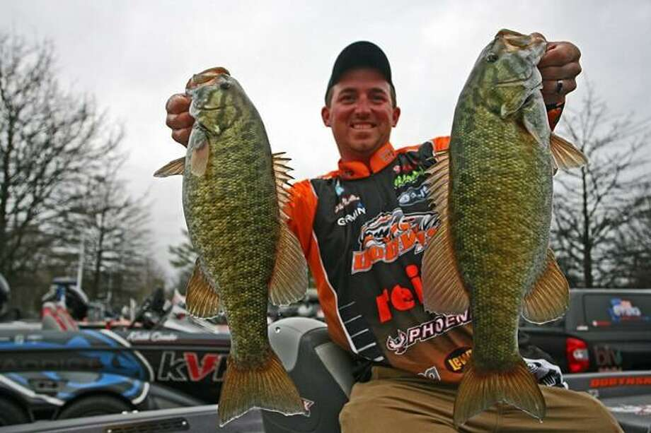 Connecticut resident Paul Mueller, 2014 Bass Federation National Champion, will demonstrate fishing techniques at the 2017 Northeast Fishing & Hunting Show on Friday, March 31, at the Connecticut Convention Center in Hartford. The show runs through Sunday, April 2. Photo: Paul Mueller / Contributed Photo