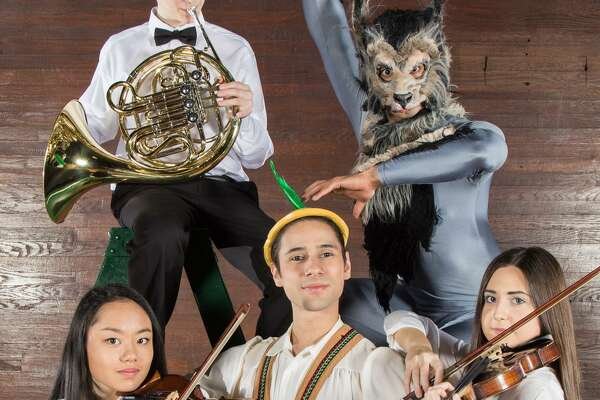 "On Sunday, April 2, audiences will have the opportunity to see and hear a production of ""Peter & The Wolf"" — which will bring together members of the Greater Bridgeport Youth Orchestras' Symphony Orchestra and dancers from the New England Ballet Company at the University of Bridgeport's Bernhard Arts Center."