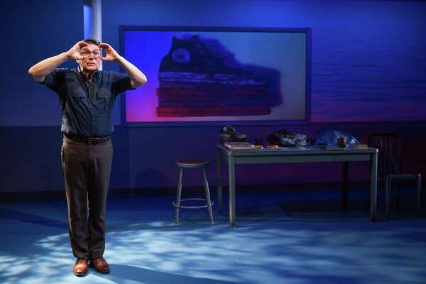 """James Lecesne performs in """"The Absolute Brightness of Leonard Pelkey,"""" at Hartford Stage, Thursday, March 30, through Sunday, April 23."""