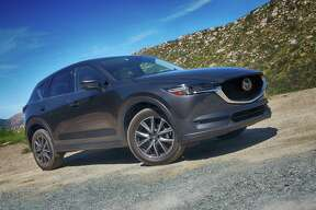 Landing in showrooms in the next week or two, Mazda's all-new 2017 CX-5 crossover comes with standard LED headlights, back-up camera and 17- or 19-inch alloy wheels.