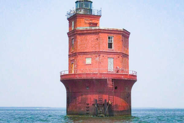 1. Wolf Trap Lighthouse, Mathews County, VA