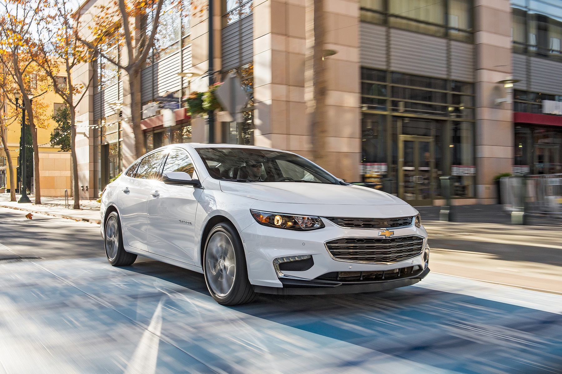 2017 Chevrolet Malibu solid midsize family sedan