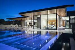 """Austin's """"Waterfall House,"""" perched in the Westlake Hills, is on the market for $6.8 million."""