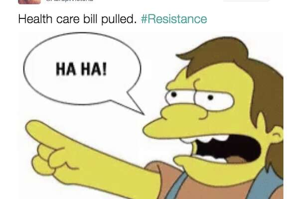 Twitter reacts to the GOP puling the American Health Care Act.