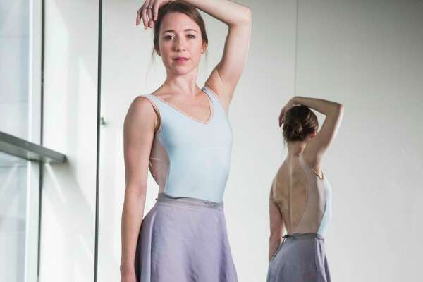 Houston Ballet principal dancer Jessica Collado poses for a portrait at the Houston Ballet Center for Dance on Wednesday, March 22, 2017, in Houston. ( Brett Coomer / Houston Chronicle )