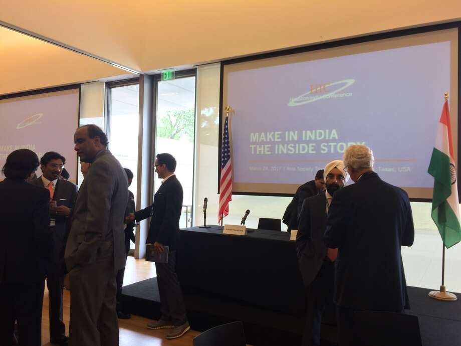 The Asia Society Texas Center hosted the inaugural Houston India Conference on Friday.