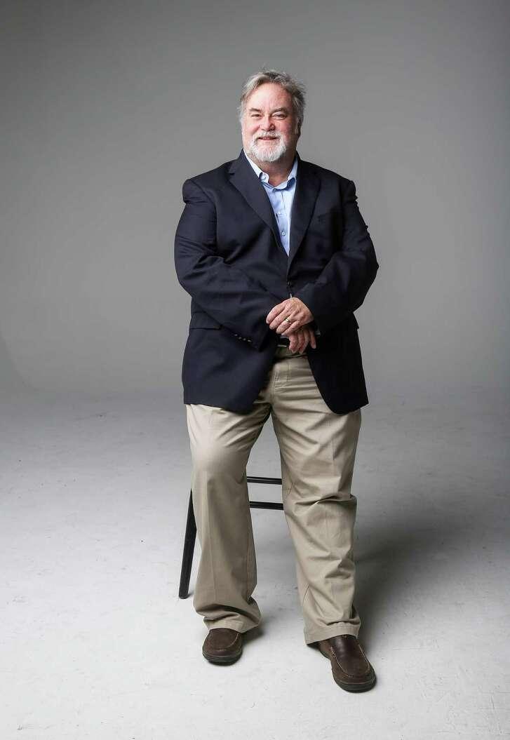 Allen Gilmer, of Drillinginfo, poses for a portrait Friday, Feb. 17, 2017, in Houston.