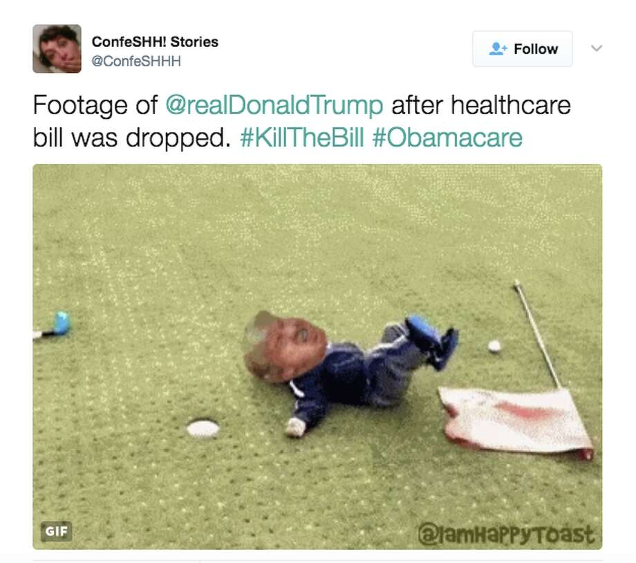 Twitter reacts to the GOP puling the American Health Care Act. Photo: Twitter
