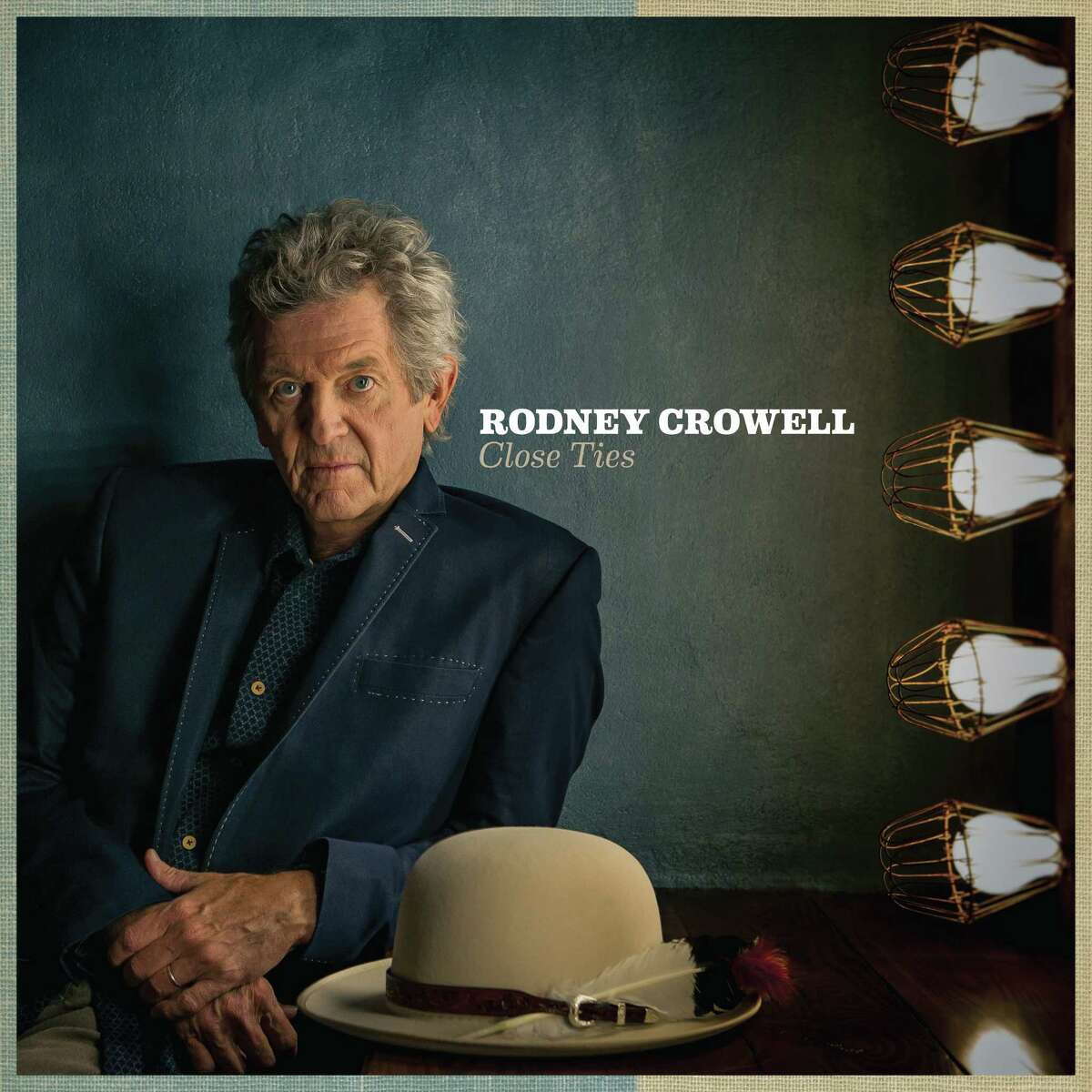 cover of Rodney Crowell album Close Ties