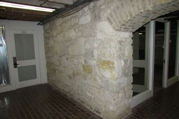 The Crockett Block building interior is worth preserving.