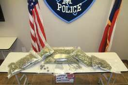 """Six pounds of """"high grade marijuana"""" and THC oils and wax were found in a Port Arthur residence during a search Friday."""