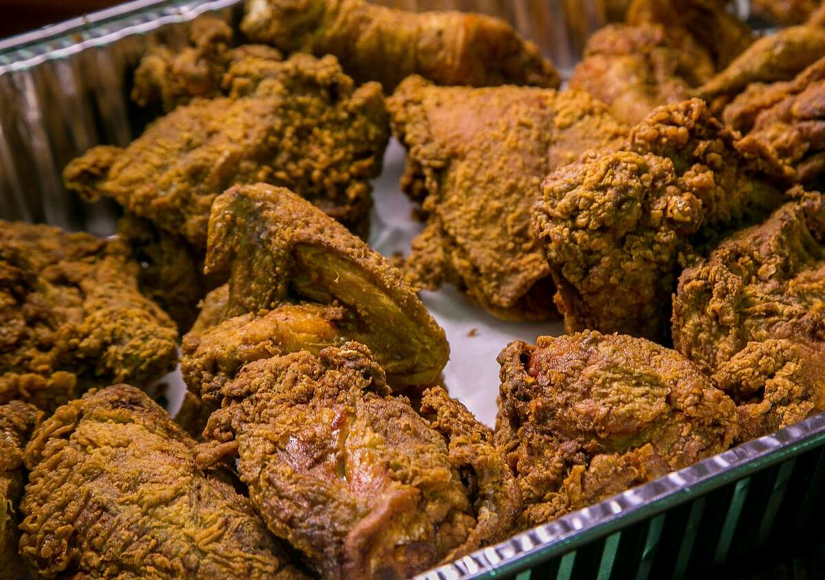 Fried Chicken at Frisco Fried in San Francisco, Calif. is seen on March 21st, 2017.