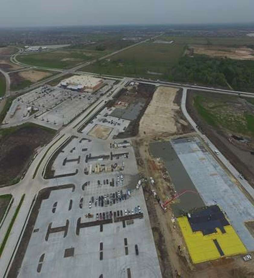 Property Commerce is developing the 438,000-square-foot Market Center at Aliana on the Grand Parkway at Harlem Road. The center will include a 124,000-square-foot Target, in addition to a recently opened 102,000-square-foot H-E-B. Photo: Property Commerce
