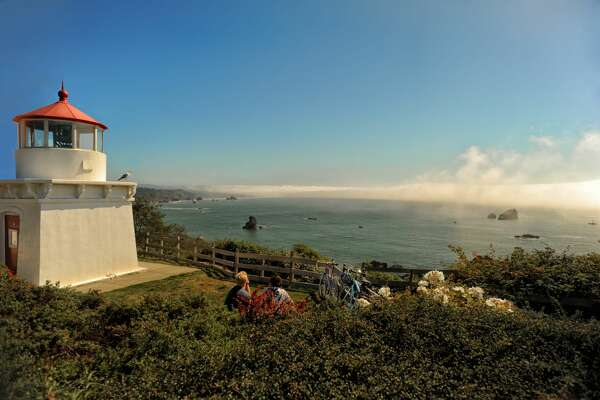 File photo of the Trinidad Memorial Lighthouse in Trinidad, California.