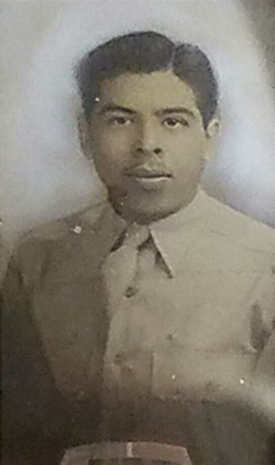 Benito Aguilar Ramos did whatever he could to make money before joining the Army. Photo: Courtesy