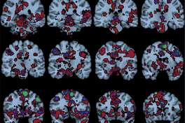 "Researchers with the Religious Brain Project set out to find the brain networks involved when religious study participants were led to ""feel the Spirit."" And, they found some. Check out the rest of this image and details on the study "" Reward, salience, and attentional networks are activated by religious experience in devout Mormons ."""