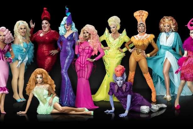 Season 9 cast.