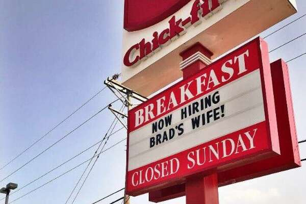 A Chick-Fil-A in Amarillo Texas has gotten in on #JusticeforBradswife, offering to hire her.