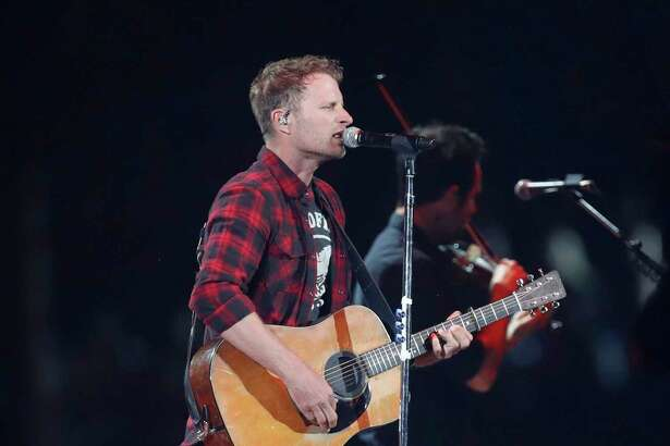 Dierks Bentley performs at the Houston Livestock Show and Rodeo at NRG Park, Friday, March 24, 2017, in Houston.