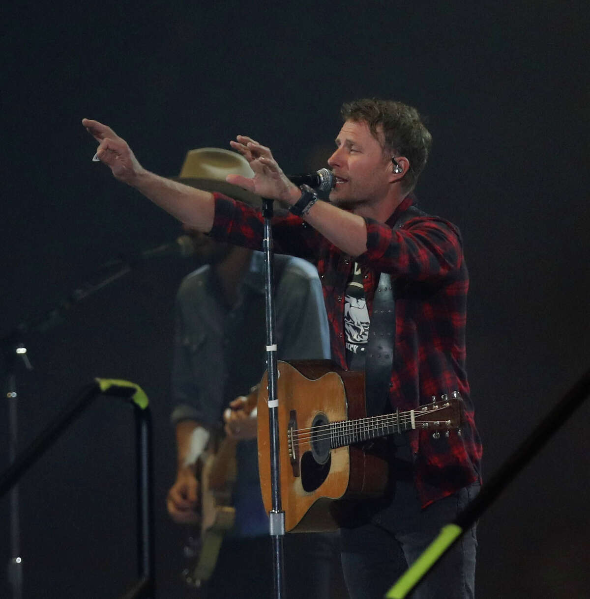Tito's Made to Order: South on Sept. 10 at 7 p.m. will include performances by Houston rapper Bun B and country music singers Morgan Wallen and Dierks Bentley. Pictured: Dierks Bentley performs at the Houston Livestock Show and Rodeo at NRG Park.