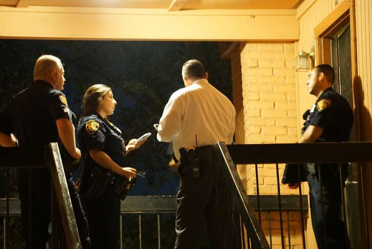 A woman was reportedly found with her throat slashed in an apartment in the 3000 block of E. Commerce Street on Friday March 24, 2017