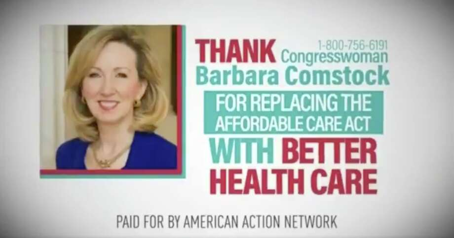A screengrab of an advertisement prematurely thanking Republican lawmakers for repealing Obamacare. Photo: Screengrab Deadspin
