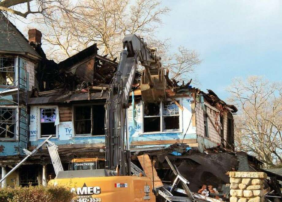 John Buzzeo, project manager of Norwalk's AMEC Carting, testified he filled out a demolition application for Dec. 28, 2011 after his company already took down the Shippan Avenue home where five people died on Christmas Day 2011. Photo: Contributed Photo / Stamford Advocate Contributed