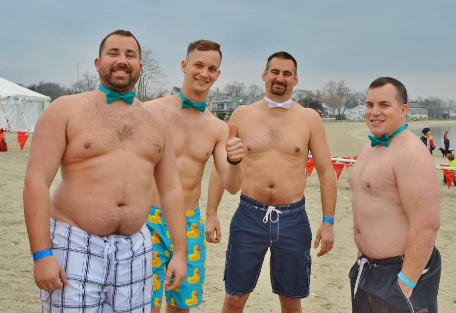 The Westport Penguin Plunge was held at Compo Beach on March 25, 2017. The Penguin Plunge is the largest grassroots fundraiser to benefit Special Olympics Connecticut. Brave plungers were encouraged to wear costumes; prizes were awarded to the best ones. Were you SEEN? Click here for more photos.  Photo: Todd Tracy / Hearst Media