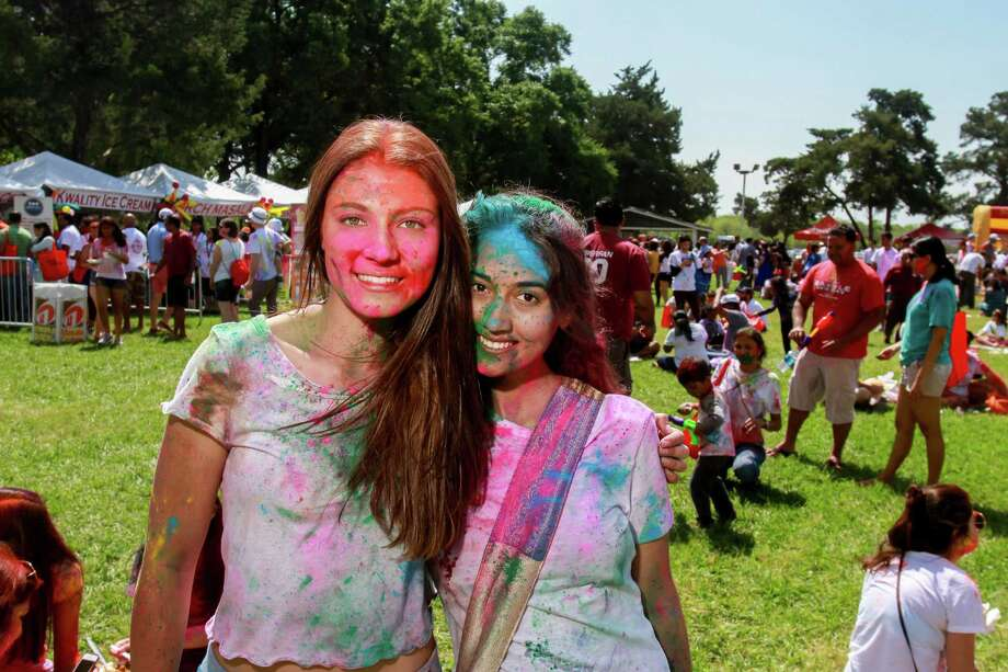 Scenes from the 10th annual Houston Holi Festival of Colors.  (For the Chronicle/Gary Fountain, March 25, 2017) Photo: Gary Fountain, Gary Fountain/For The Chronicle / Copyright 2017 Gary Fountain