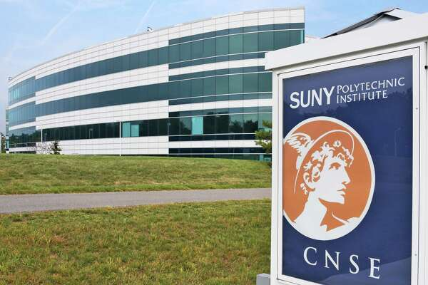 An exterior view of SUNY Polytechnic Institute Wednesday Sept. 14, 2016 in Albany, NY.  (John Carl D'Annibale / Times Union)