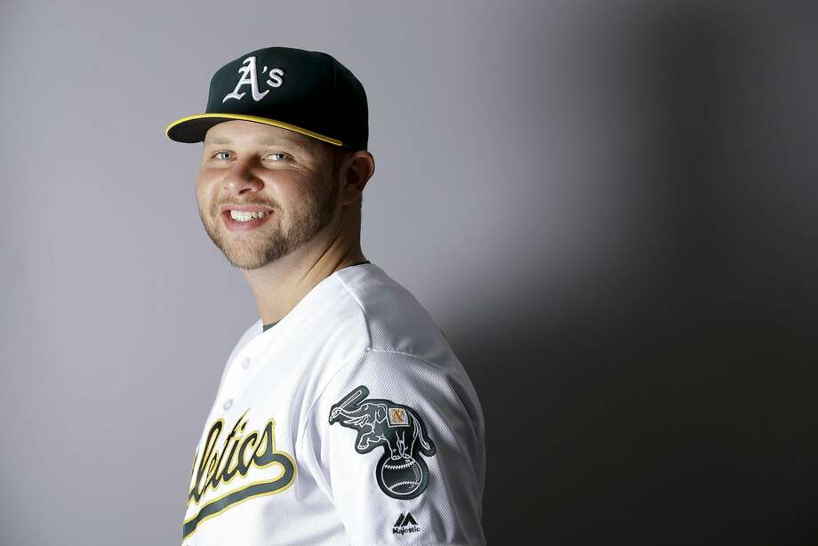 This is a 2016 photo of Jesse Hahn of the Oakland Athletics baseball team. This image reflects the Oakland Athletics active roster as of Monday, Feb. 29, 2016, when this image was taken. (AP Photo/Chris Carlson) Photo: Chris Carlson, AP
