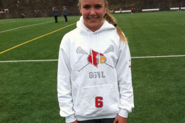 Erika Bloes is one of the senior captains of the Greenwich High School girls lacrosse team, which advanced to the FCIAC and Class L Tournament finals last season.