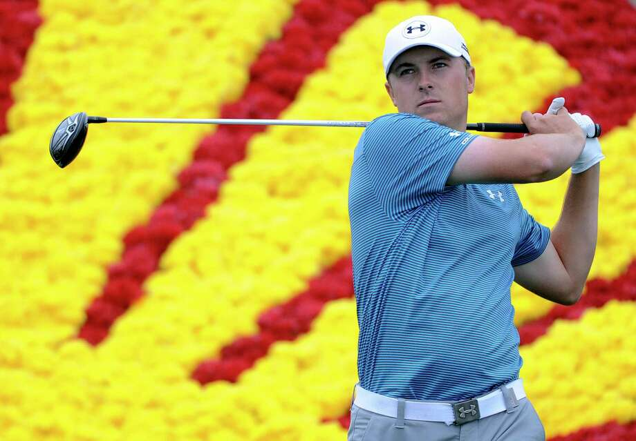Houston Open loyalist Jordan Spieth will be in this year's field, but that familiar yellow and red background is a thing of the past with Shell bowing out as the tournament's title sponsor. Photo: Eric Christian Smith, Freelance / 2015 Eric Christian Smith