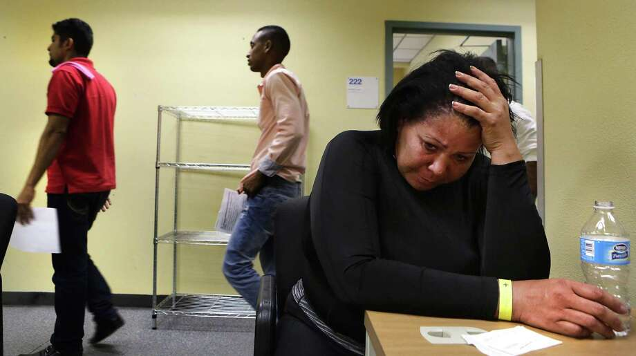 Staff photographer Bob Owen won second place in the Texas APME photojournalism category for documenting the the U.S. Immigration process in Laredo in 2016. Photo: Bob Owen /San Antonio Express-News / San Antonio Express-News