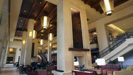 Alexa and Siri are both vying to be the voice-controlled platform of choice for travelers. The JW Marriott San Antonio Hill Country Resort & Spa has has been testing the Amazon technology since October. The focus is on using Alexa as a personal concierge. Shown is the ground floor of the resort's lobby.