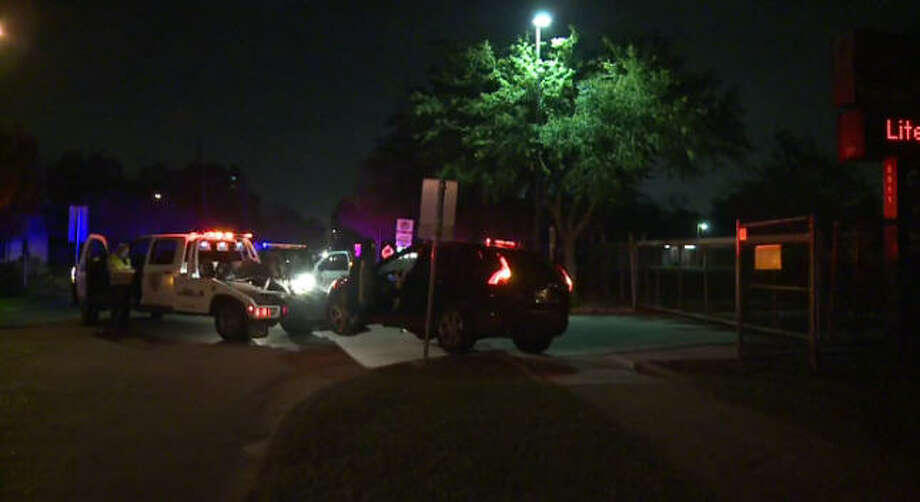 A burglary suspect got away after a chase through south Houston.