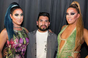 The 6th Annual Emerald Ball fundraiser celebrating San Antonio's LGBT community and the founding of the city's Pride Center San Antonio drew large crowds Saturday night, March 25, 2017 at the Guadalupe Theater.