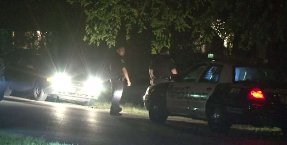 A man was stabbed after a fight with his brother.