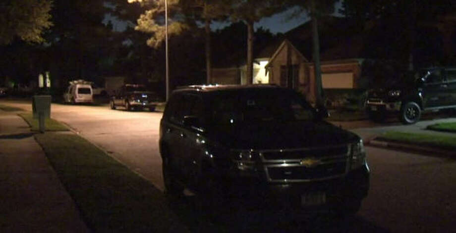 A retired officer shot his neighbor Saturday night on this suburban street, according to local reports.