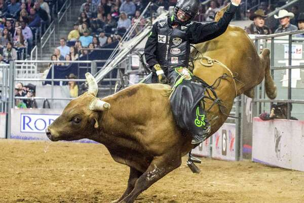 Liberty County native Cole Melancon placed fourth in the final bull riding championship at the Houston Livestock Show and Rodeo on March 26.