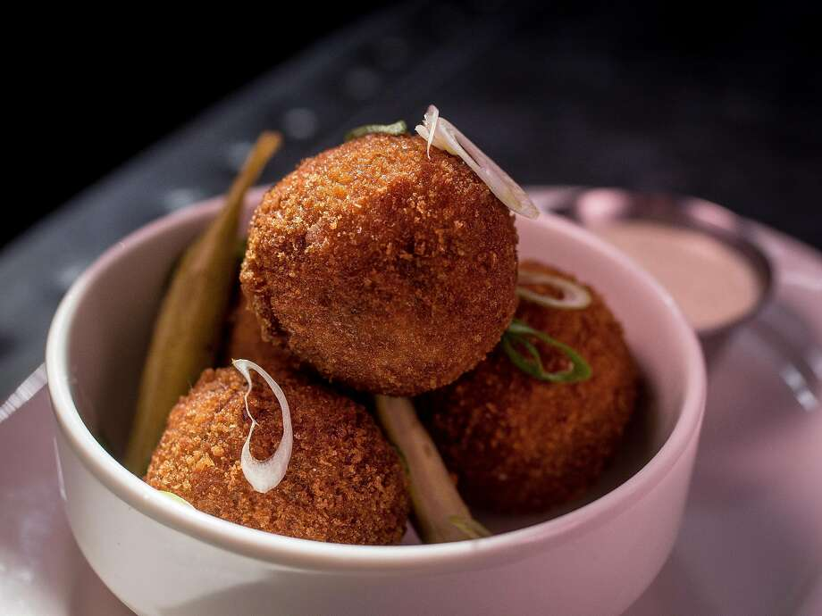 Crispy Boudin Balls at Alba Ray's in San Francisco, Calif., is seen on March 25th, 2017. Photo: John Storey, Special To The Chronicle