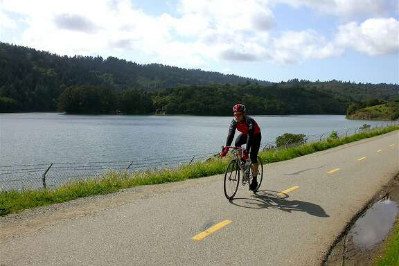 The Sawyer Camp Trail is part of the 15-mile Crystal Springs Trail on the Peninsula, visited each year by 325,000 visitors, most on bikes
