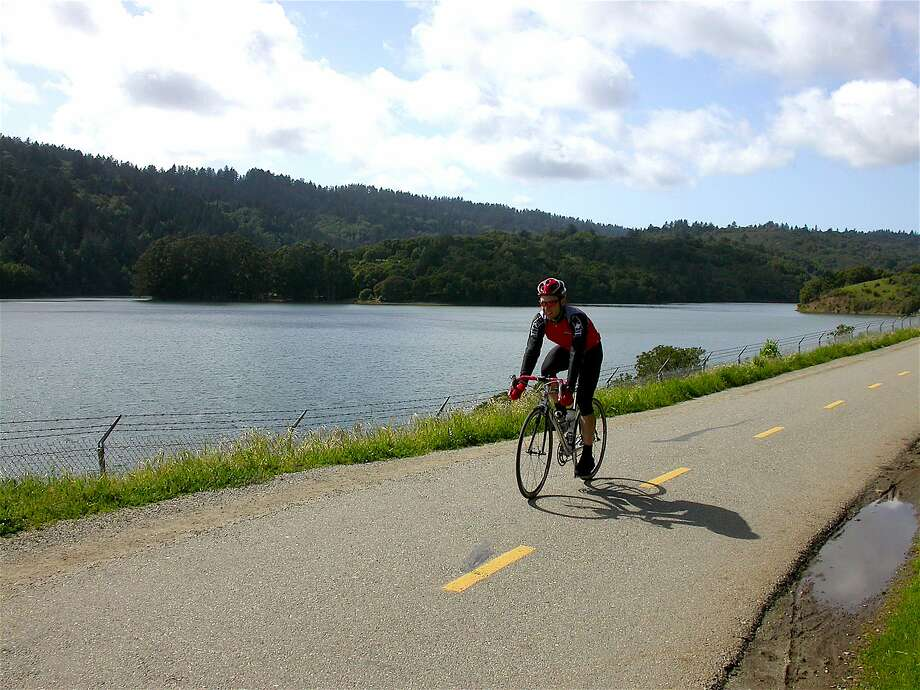 The Sawyer Camp Trail is part of the 15-mile Crystal Springs Trail on the Peninsula, visited each year by 325,000 visitors, most on bikes Photo: Tom Stienstra, Tom Stienstra / The Chronicle