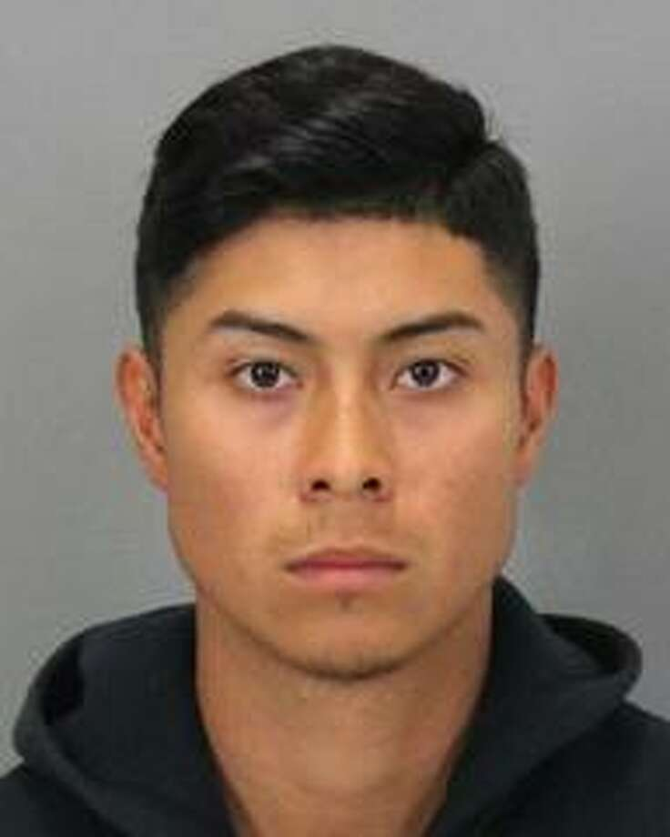 Sunnyvale resident Moises Martin, 21, was arrested on suspicion of sending harmful matter to a minor, a felony, and two other misdemeanor charges, police said Sunday.