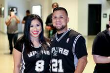 Fans were ready for victory when the Spurs squared off against the New York Nicks, Saturday, March 25, 2017, at the AT&T Center. And Kawhi Leonard and company were only too happy to oblige those fans.