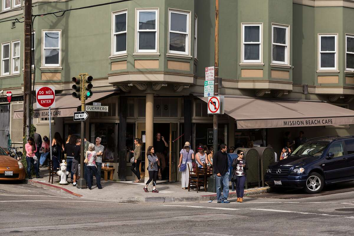 The line for Sunday brunch outside of Mission Beach Cafe. A group of nine current and former employees at Mission Beach Cafe in San Francisco have sued the popular breakfast and brunch restaurant over what they claim are a host of labor violations dating back at least four years.
