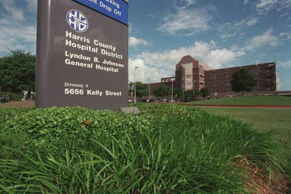 LBJ Hospital, 5656 Kelley, Houston, Texas, June 4, 2001.
