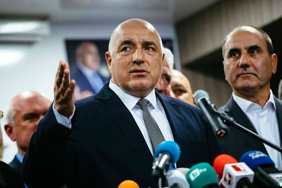 Boiko Borisov, head of the center-right GERB party, will probably form a coalition government. Photo: DIMITAR DILKOFF, AFP/Getty Images